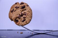 Forked Cookie! (BGDL) Tags: lightroomcc nikond7000 afsnikkor18105mm13556g bgdl kitchen fork cookie 7daysofshooting week3 balance geometrysunday