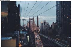 New York. Roosevelt Island Tramway