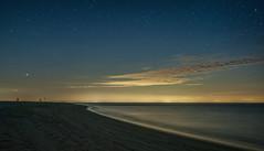 Starry Night At The Beach (Vic Zigmont) Tags: capecod racepoint stars nightphotography nightskies longexposure