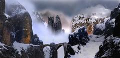 viaggi # 2 (art & mountains) Tags: montagne sentiero passaggio terradimezzo fantasy immaginazione creatività dream vision hiking viandanti aleatorio scoperta emozione suggestivo letteratura romanticismo artwork