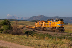 UP 8887 Greenland 23 Jul 17 (AK Ween) Tags: up unionpacific up8887 emd sd70ace sd70ah greenland colorado greenlandopenspace jointline pikespeak rampartrange dodx train railroad