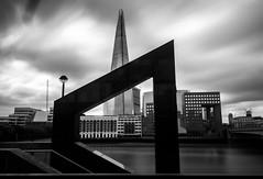 The Shard framed (Jonathan Vowles) Tags: london shard framed mono