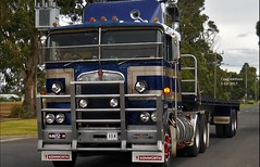 photo by secret squirrel (secret squirrel6) Tags: vehicle weapon secretsquirrel6truckphotos craigjohnsontruckphotos australiantruck bigrig worldtruck truckphoto kenworth classic cabover longwarry clubpermit