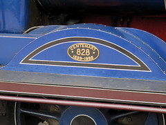 253 | steam engine – Broomhill station (Mark & Naomi Iliff) Tags: broomhill strathspeyrailway railway preserved heritage railroad steam engine locomotive 828 caledonianrailway class812 060 1899 kettle