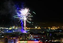14 juillet (cedric.harbulot) Tags: nikon d5300 sigma 18250mm nouvellecalédonie nouméa ville nuit paysage feux dartifice 14 juillet fête nationale newcaledonia city landscape party fireworks