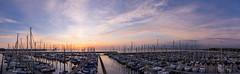 Sunrise Pano Kiel-Schilksee (Florian.Brandt) Tags: sonnenaufgang kiel schilksee panorama sunrise