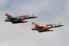 French AF Mirage's (Dougie Edmond) Tags: air show militart aircrft airplane airport fairford