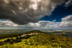 Scalp Mountain (Mr Bultitude) Tags: scalp mountain inishowen donegal swilly inch island estuary rain clouds windy sheep burt burnfoot landsape