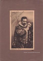 CARUSO, Enrico, Rigoletto, Brussels, 1910 (Operabilia) Tags: opera operabilia goldenage autograph autographe monnaie brussels claudepascalperna rigoletto verdi ducadimantova duca enricocaruso tenor