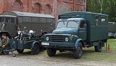 Bundesgrenzschutz truck (Schwanzus_Longus) Tags: german germany old classic vintage truck bgs lorry bundesgrenzschutz federal border police force guard hanomag al28 hsm sehnde wehmingen