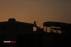 #Confrontations at #Qalandia checkpoint during #sunset - #Silhouettes (TeamPalestina) Tags: issamalrimawi heritage freepalestine palestinian sunrise sweet beautiful live photo photographer comfort natural تصويري palestine nice am amazing innocent occupation landscape landscapes reflection blockade hope canon sunset