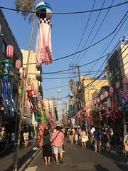 Shitamachi Tanabata Festival (highglosshighs) Tags: 2017 july japan tokyo shitamachi tanabata asakusa skytree kappabashi festival matsuri star decorations
