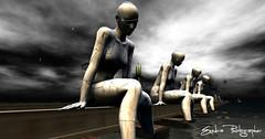 Digital Art -Cammino e Vivo Capovolto (Exedra Lyric) Tags: second life secondlife italia virtualworld virtual reality exedra sl art photographer virtualphotographer