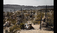 The Good, The Bad and The Ugly (Whitney Lake) Tags: bigbend texas terlingua dry dusty oldwest tombs graves cemetery graveyard