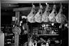 Les jambons suspendus (Garry_L) Tags: jambon ham restaurant sarlat france