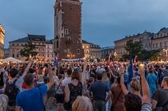IMGP7324 (TomaszMazon) Tags: protest democracy krakow poland court antigovernment crowd