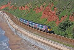 Langstone Rock Voyager (gareth46233) Tags: 220013 220 cross country voyager dawlish sea wall langstone rock 1m41