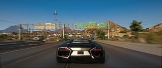 Desert Highway | GTAV