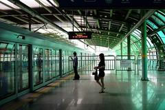 Oksu Station (Seiman Choi) Tags: oksustation subway summer station fujifilmx70 seoul korea