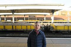 (andrew gallix) Tags: william yeartwelve wimbledon railwaystation platform