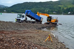 (Zak355) Tags: rhubodach colintraive slipway slipways construction rothesay isleofbute bute scotland scottish truck lorry mercedes