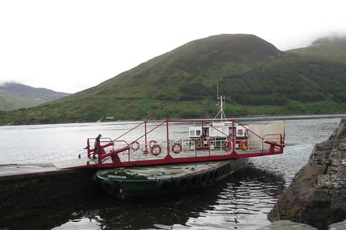Kylerhea Turntable Ferry