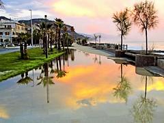 Dopo la pioggia-After the rain (TRICOR 46) Tags: cielo riflessi lungomare