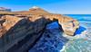 Dunedin Tunnel (Stuck in Customs) Tags: dunedin newzealand quad quadcopter dji phantom hdr hdrtutorial hdrphotography hdrphoto treyratcliff stuckincustoms stuckincustomscom water sea rock blue waves drone