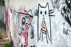 Cat | Street Art | Kaunas #206/365 (A. Aleksandravičius) Tags: cat street art kaunas lithuania 2017 lietuva nikon nikond750 d750 135mm 135mmf2d nikon135f2 nikon135mmf2dc 135 nikon135mm nikonafdcnikkor135mmf2d nikkor135 nikkor 365days 3652017 nikkor135mm 365 project365 206365