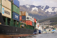 Port of Ushuaia Argentina South America
