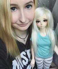 Chelle (CorpseDollyxx) Tags: fairyland feeple 60 rin f60 bjd abjd asian ball jointed doll
