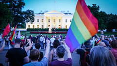 2017.07.26 Protest Trans Military Ban, White House, Washington DC USA 7680