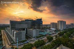 vl_05536 (Hanoi's Panorama & Skyline Gallery) Tags: asia asian architecture asean appartment architect building canon capital caoốc city downtown hanoi hànội hanoipanorama hanoiskyline hanoicityscape sky skyline skyscraper skylines skyscrapercity sunset phạmvănđồng