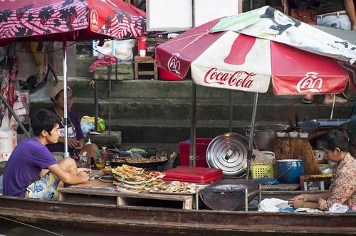 marché flottant amphawa - thailande 10
