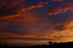 Sunset July 26 2017 #26 (Az Skies Photography) Tags: sun set sunset dusk twilight nightfall cloud clouds sky skyline skyscape skycandy skyfire red orange yellow gold golden salmon black canon eos 80d canoneos80d eos80d rio rico arizona az riorico rioricoaz arizonasky arizonaskyline arizonaskyscape arizonaskycandy arizonaskyfire july 26 2017 july262017 72617 7262017