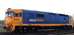 Shunt Unit 8114 (damoN475photos) Tags: shunt unit pn exnsw freightcorp freightrail lpc 2015