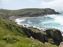 Nanjizal Bay (andreboeni) Tags: cornwall westcornwall penwith granite rock coast outcrop sea atlantic ocean southwest path nanjizal bay landsend