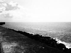 El Malecón habanero (Devin_Smith) Tags: malecon malecón habanero cuba bw blackandwhite blancoynegro ocean havana habana