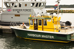 slow day (Mark Rigler UK) Tags: poole quay water sea boat tug ship harrbour master border force