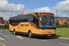 BN63 MDO: Wright, Newark (chucklebuster) Tags: bn63mdo mercedes tourismo travel wright