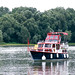 Privat yacht on the River Danube