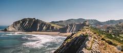 Zumaia (jdelrivero) Tags: costa mar zumaia geologia elementos guipuzkoa geology elements sea euskadi españa es