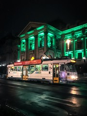 Melbourne Z3 outside Melbourne Town Hall, Swanston Street. (paddington62) Tags: townhall z3 yarratrams streetcar trolley tram swanstonstreet melbourne