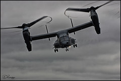 Osprey CV-22B (Donna Rowley) Tags: usaf boeing osprey aircraft plane helicopter tiltrotor rotors chopper heli airforce riat riat2017 raf fairford raffairford airshow pilot aviation cloud dark stormy