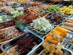 Lok Lok Seafood Sticks Delight (阿Dex) Tags: loklok seafood sausage stick food yummy butterworth penang malaysia