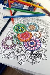 Coloring book (katarzynapawlikowska) Tags: coloringbook book colors drawing freetime relax color coloring art