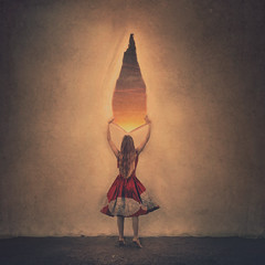 light trapped (brookeshaden) Tags: