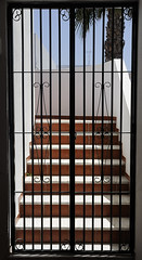 no way out (claude05) Tags: door grid staircase