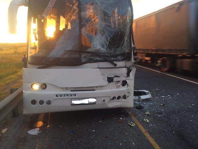 Натрассе М-5 «Урал» вСергиевском районе фургон протаранил две легковушки