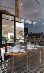 Rotterdam 22-07-2017-6 (Pure Natural Ingredients) Tags: rotterdam rotjeknor 010 architecture architectuur buildings gebouwen interior interiour restaurant museum window